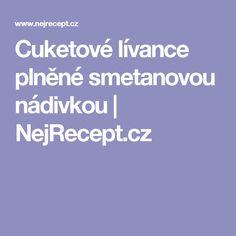 Cuketové lívance plněné smetanovou nádivkou | NejRecept.cz