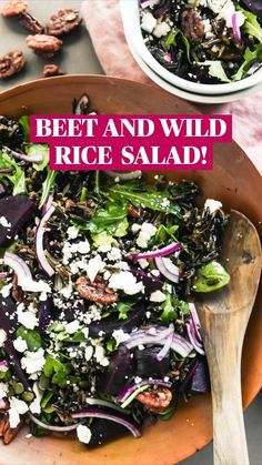 Thanksgiving Recipes, Fall Recipes, Gluten Free Recipes, Vegan Recipes, Wild Rice Salad, Native Foods, Food Picks, Island Food, Beet Salad