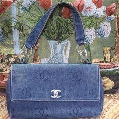 CHANEL Handbags - Authentic denim Chanel flap bag♦️FINAL PRICE♦️