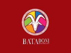 Logo para o grupo de maracatu Batadoni