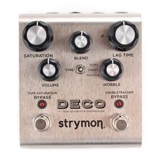 From Strymon: Our journey begins with the early recording studios of the '50s and '60s. The introduction of reel-to-reel tape machines and the creative engineers that used them brought on some of the