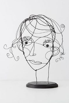 drawings come to life, wire by lihoffmann