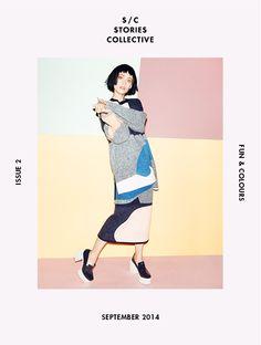 Stories Collective / Fun & Colours Cover / Photography David Titlow / Styling Gabriela Splendore & Mariana Lourenço
