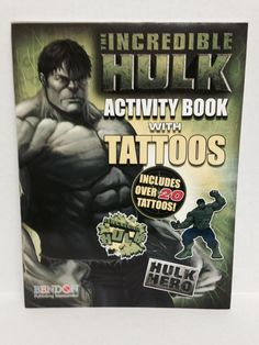 the incredible hulk activity book w/tattoos Case of 36