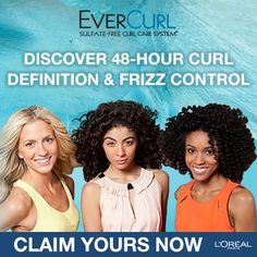 Enter to win Curly Hair prizes: L'Oreal EverCurl Sample Giveaway  http://www.naturallycurly.com/giveaways/LOreal-EverCurl-Sample-Giveaway