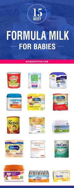 Top 15 Best Formula Milk For Babies