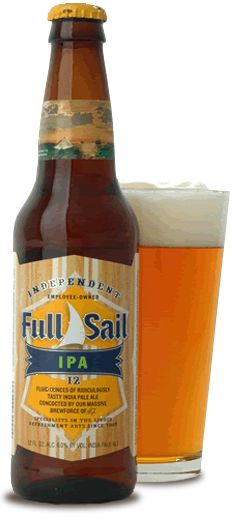 Hood River's Full Sail Brewery. Oregonians love their IPA's!