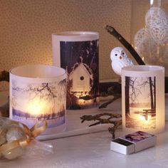 Teelichter mit individuellen Design