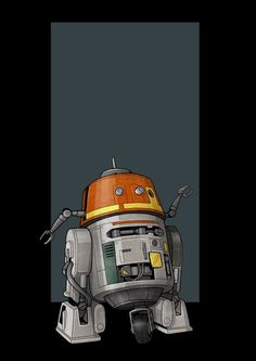 This is a piece I was asked to do of Chopper from Star Wars Rebels. Star Wars Film, Star Wars Rebels, Star Wars Canon, Picture Collection, Disney Pictures, Clone Wars, Chopper, Art Drawings, Concept Art