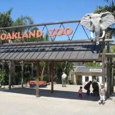 Fairyland was closed so we headed over to the Oakland Zoo for a family fun day! :-)