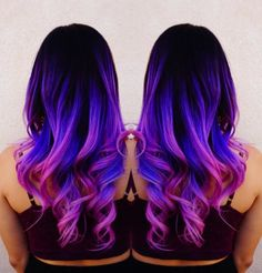 Mermaid hair Unicorn hair Rainbow hair by Toni Rose Larson @colordollz Pink hair…