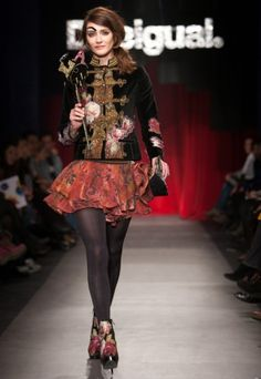 the Christian Lacroix designed a capsule collection for Desigual. Would you wear this?