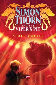 #CoverReveal: Simon Thorn and the Viper's Pit - Aimee Carter