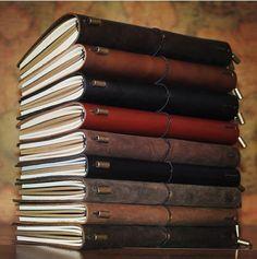 Pas cher Notebook Véritable cuir de vachette Journal journal spirale Vintage voyageurs maintenant acheter une Réserver 5 accessoires, Acheter  Cahier de notes de qualité directement des fournisseurs de Chine:                                       Portable en cuir pour ordinateur portable Véritable carnet de cuir de va