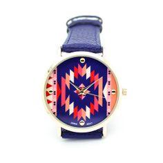 Aztec print watch – Imsmistyle.
