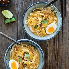 This Curry Noodles with Chicken recipe will have you skipping takeout and whipping up deliciousness in your very own kitchen.