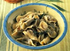 Bergamo Casoncelli - sage, pancetta, meat pasta.