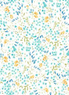 VIKKI CHU: Practicing some more floral patterns.