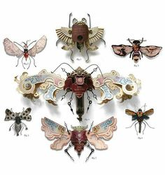"""Litter Bugs"" by Mark Oliver.  Incredibly imaginative and beautifully made . . ."