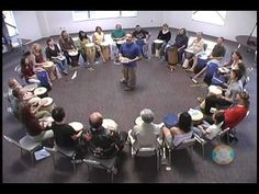This is a great warm-up game for music classes (focus, concentration, pulse)! Use any instrument/body percussion etc. Kalani - Let's All Play Our Drum Game - YouTube