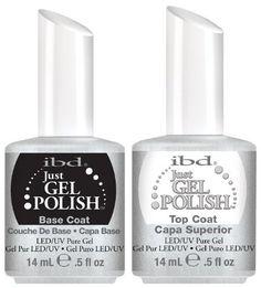 IBD just Gel uv/led Gel Polish - TOP + BASE 2 x 14ml - New Genuine by HealthMarket