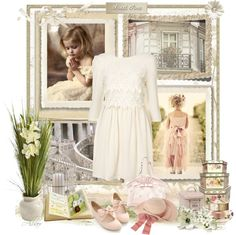 """Sweet white"" by albaor ❤ liked on Polyvore"