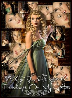 Taylor Swift - Teardrops On My Guitar Taylor Swift Music Videos, Taylor Swift Album, Taylor Alison Swift, Rebecca Taylor, One & Only, Feminine Dress, Chris Brown, Her Music, Celebrity Dresses