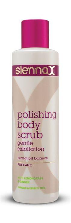 polishing body scrub