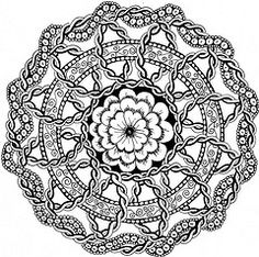 The World's Best Photos of mandala and zentangle - Flickr Hive Mind