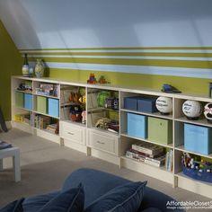 I like the stripes- Mason's room.
