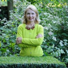 """Christa Hasselhorst, Autorin von """"Faszination Grüne Gärten ©Marion Nickig"""