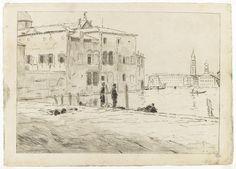 Les collections du département des arts graphiques - Vue de Venise - ROUART Henri