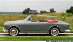 Volvo 122S Amazon Coune Convertible, which is the only surviving example of the five built. 1963