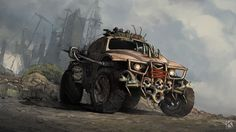 ArtStation - sick as f*ck vehicle concept, Kostya P!ngWIN Chernianu