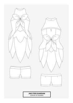 Jinx Star Guardian Cosplay Pattern |  Click to find the pattern!