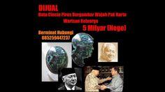 HEBOH!! Batu Akik Pirus Turquoise Bergambar Wajah Pak Harto seharga 5 Mi...