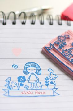 fifi 03 ♥ Rubber Stamp
