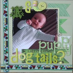 Frogs and snails and puppy dog tails - Scrapbook.com