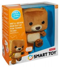 Fisher Price Smart Toy Bear in Box