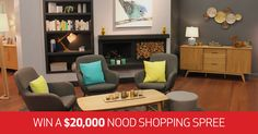 Kiwi Living and Nood are giving you the chance to win a $20,000 shopping spree.