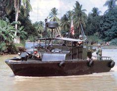 PBR (Patrol Boat River) Mekong Delta Vietnam