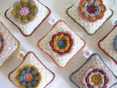'vintage rose' pin cushion