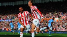 Peter #Crouch (Stoke City FC) England League, Peter Crouch, Stoke City Fc, Uefa Euro 2016, Euro 2012, Website Features, European Football, Uefa Champions League, Competition