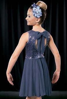 Weissman™ | Sequin Georgette Day Dress
