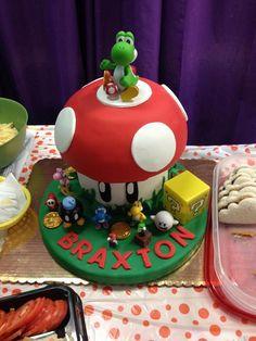 - Yoshi cake