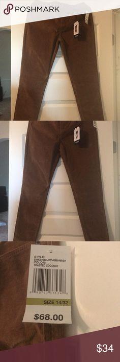 Khaki colored courderoy Great pants Kensie Pants Skinny