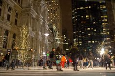 The Rothman Ice Rink at Dilworth Park (Photo by M. Fischetti for Visit Philadelphia)