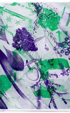Graphic Design: Tasty risograph posters from prolific designer Scott Reinhard