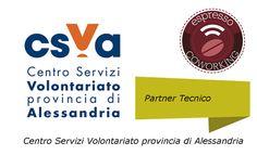 #CSVA Centro Servizi #Volontariato di #Alessandria è partner di Espresso #Coworking