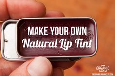 Make Your Own Natural Lip Tint via This Organic Life #organic #natural #diy #make #naturalbeauty #liptint #lipgloss #naturalmakeup